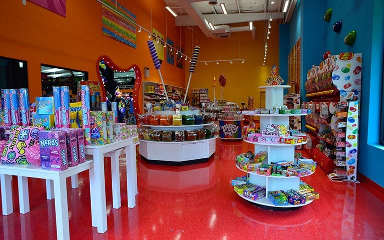 Sugar Rush Candy Store At Topjump Trampoline Amp Extreme Arena