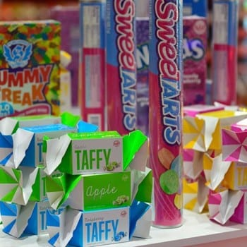 Sugar Rush Taffy and SweetTarts