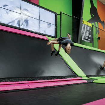 Top Jump Trampoline Park in Pigeon Forge