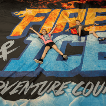 Looking for Adventure in Pigeon Forge? Come Try our Fire & Ice Ninja Course