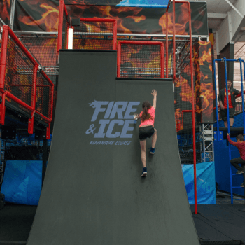 Ninja Warrior Course in Pigeon Forge