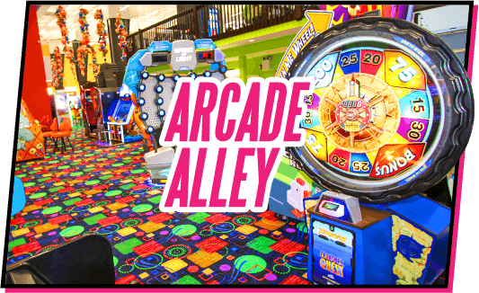 Arcade Alley - TopJump in Pigeon Forge, TN