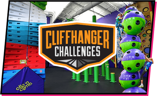 Clifferhanger Challenges at TopJump Trampoline Park and Extreme Arena