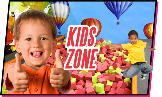 Kids Zone at TopJump Trampoline Park and Extreme Arena