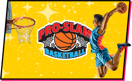 pro slam basketball at topjump trampoline extreme arena