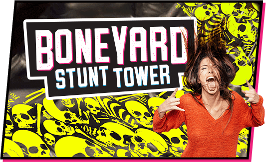 Boneyard Stunt Tower at TopJump