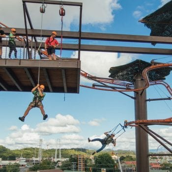 The Newest Adventure Park in Pigeon Forge!